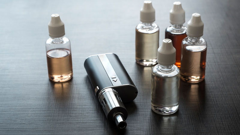 Delaware imposes a tax on vapor products