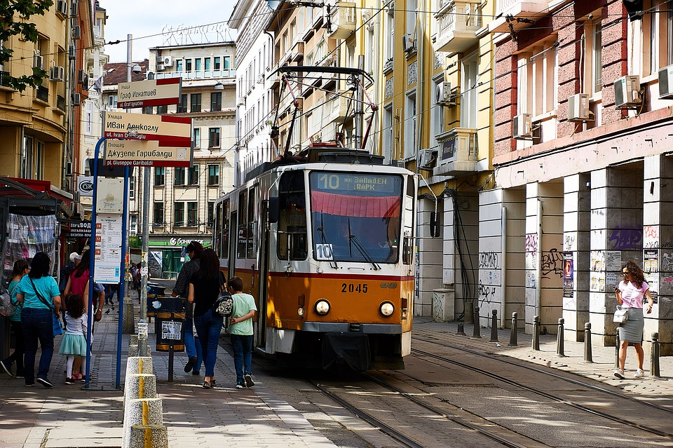 Sofia streetcar